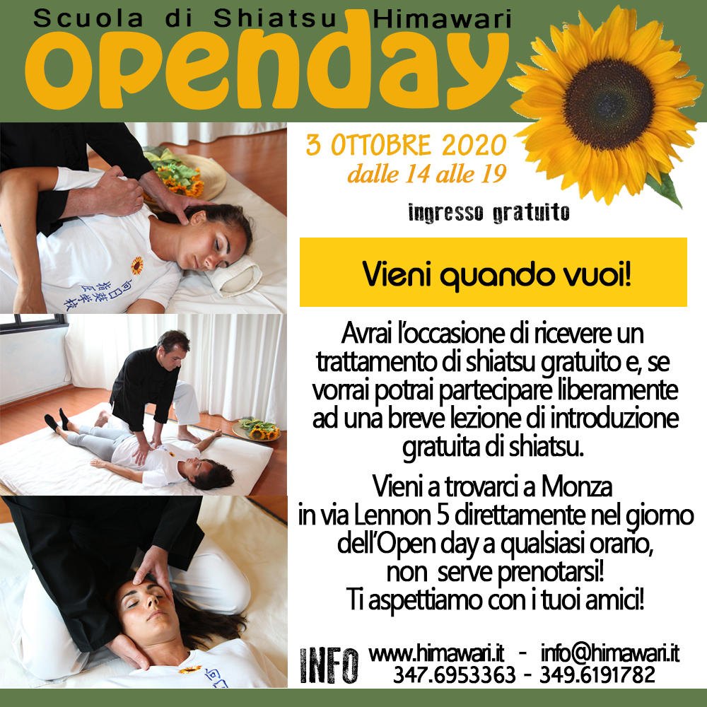 openday leaflet